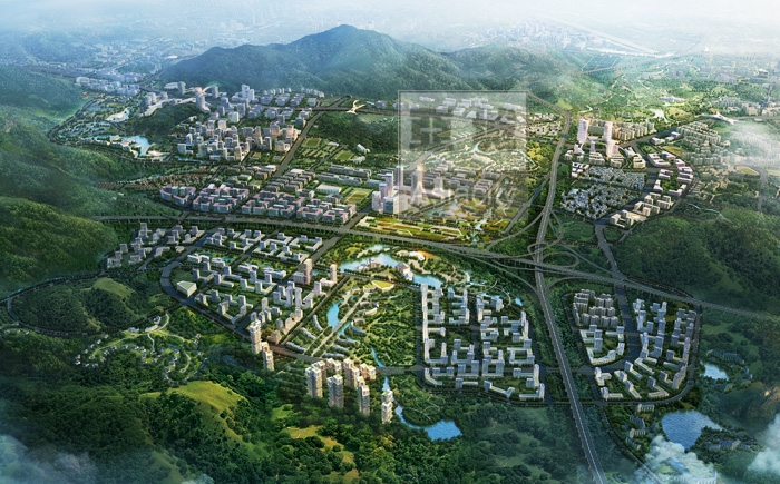天河智慧城概念性城市设计